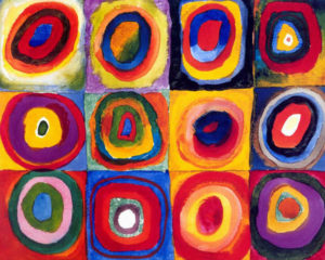 Wassily Kandinsky | Concentric Circles