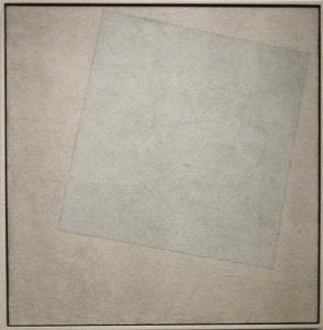 Kasimir Malevitch, Carré blanc sur fond blanc, 1918