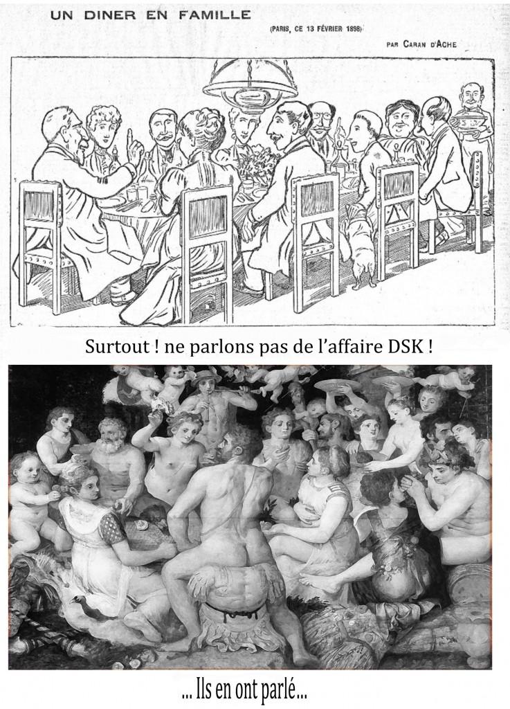Affaire DSK par Caran d'Ache & Unidivers