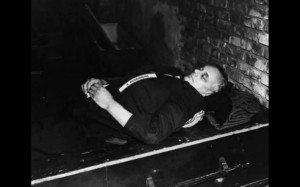 Alfred Rosenberg après son exécution