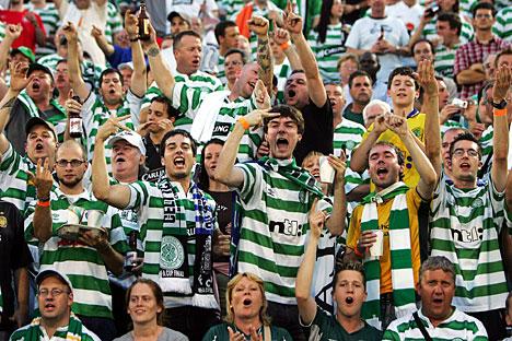 Celtic Fans Rennes