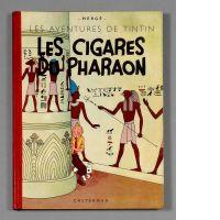 Les Cigares du Pharaon, ouvrage estimé entre 35000 et 48000 euros.