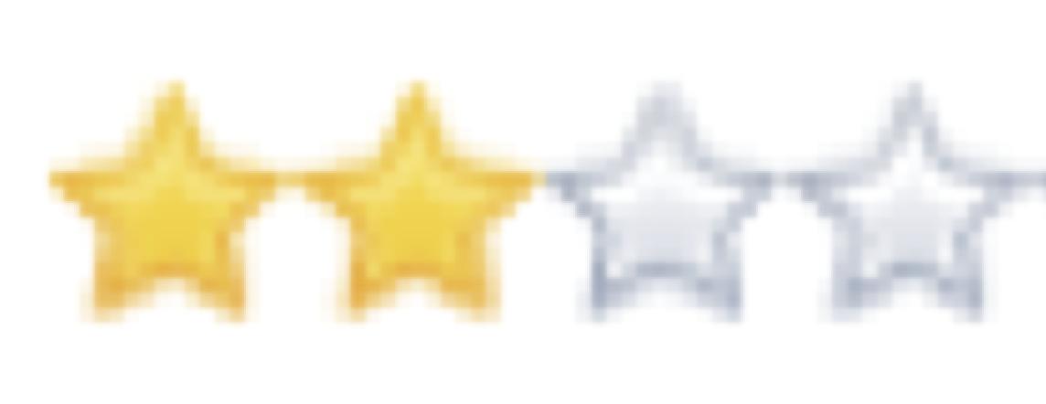 2/4 étoiles