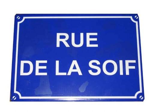 rue, plaque, renens