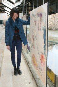 Rennes, Unidivers, Magazine, Journal, angelique dauvilliers, transparence, galerie lavoir, mjc la paillette, peinture, art,