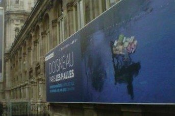 doisneau, hotel de ville, paris, les halles, baltard, exposition, photo
