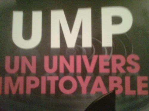 ump, politique, univers impitoyable, fillon, balladur, copé, latrous, marteau, maxime pitteloud, lipdub