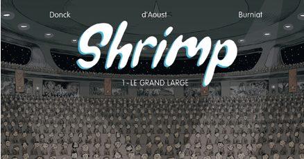 BD, dargaud, my major company, shrimp