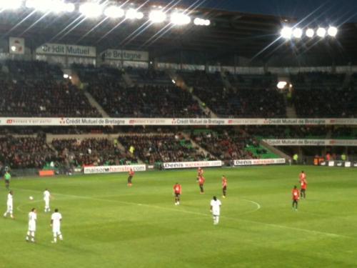 stade rennais, couleurs, rouge et noir, promotion, pub