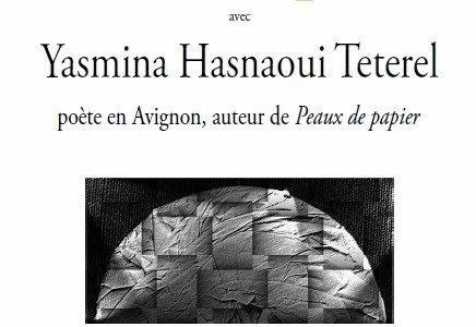 yasmina, Yasmina Hasnaoui, poésie, poetesse, avignon, café blanc