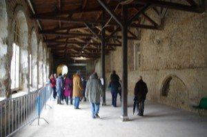 galerie, couvent de sjacobins, fouilles