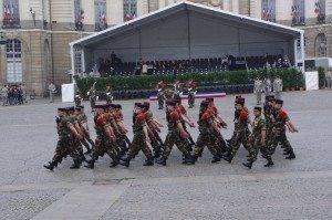 militaire, hôtel de ville, rennes, cérémonie du 8 mai