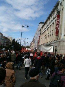 manif, premier mai, cortège, manifestants