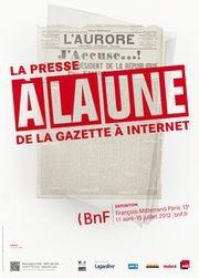 La Presse, Une, Gazette, Internet,médias, bnf, bibliothèque
