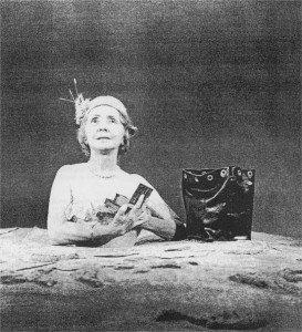 Catherine Frot, théâtre, Winnie,mamelon,  Marc Paquien, Oh les beaux jours, Samuel Beckett, Pierre Banderet, Madeleine Renaud, thomas louis