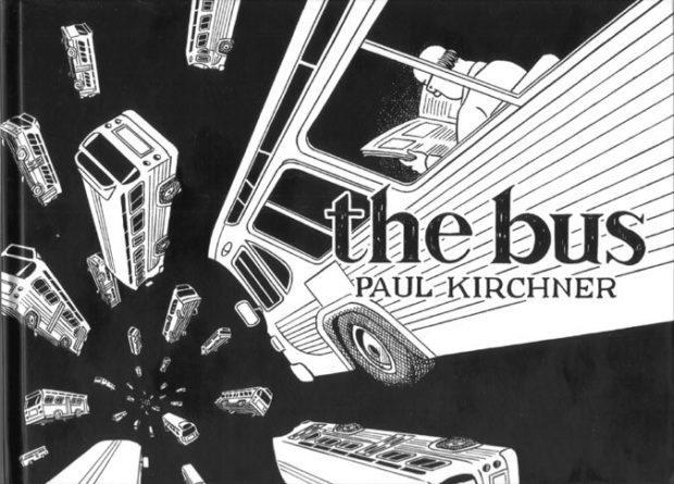 bd, bande dessinée, The bus, Paul Kirchner, Heavy Metal, rotomago, strips Bilal, comics, underground, Caza, Druillet, Moebius, Montellier, Chantal Montellier