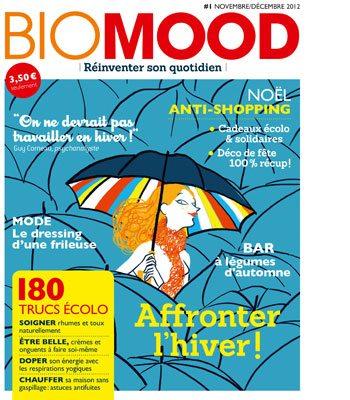 Biomood, magazine, presse, femme, bimestriel, écologique, éthique, bioresponsabilité, greenwashing, magazine féminin