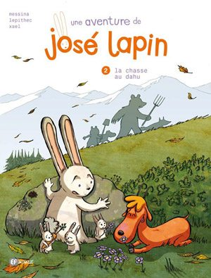Messina,Lepithec, bd, josé lapin, Nicolas Rouhaud