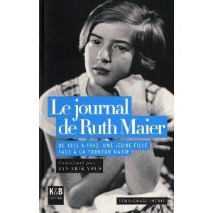 Gunvor Hofmo, Norvège, Ruth Maier, Le journal de Ruth Maier