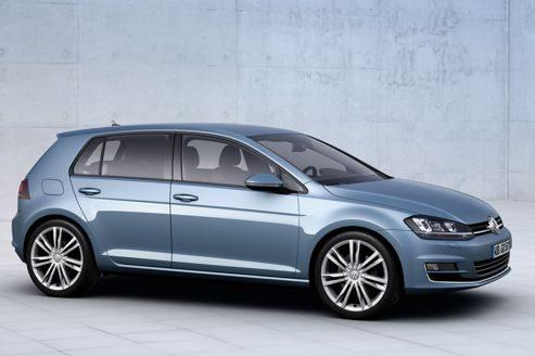 Volkswagen Golf 7 Mondial de l'automobile 2012