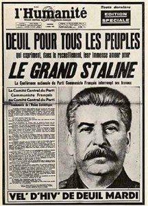 staline, journal, propagande, humanité
