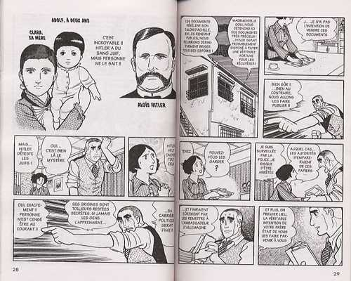 Les 3 Adolf, Osamu Tezuka, Manga, BD, Ghibli, Osamu Tezuka, Roi Léo, Tonkam, invasion, Corée, Chine, Japon, Adolf, jeunesses hitlériennes, Shoah, Israël, Pearl Harbor, Hitler
