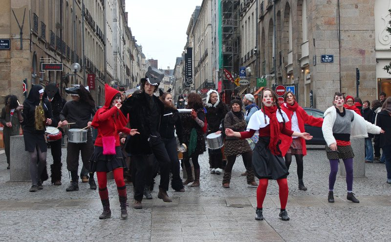 Carnaval, mardi gras, rennes