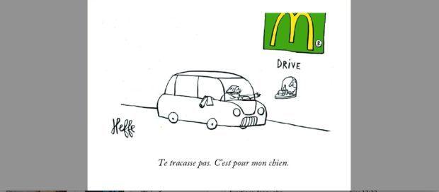 mac do, restaurant, fast food, michel heffe