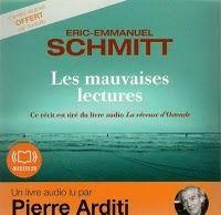 les mauvaises lectures eric emmanuel schmitt Lectures de Liliba