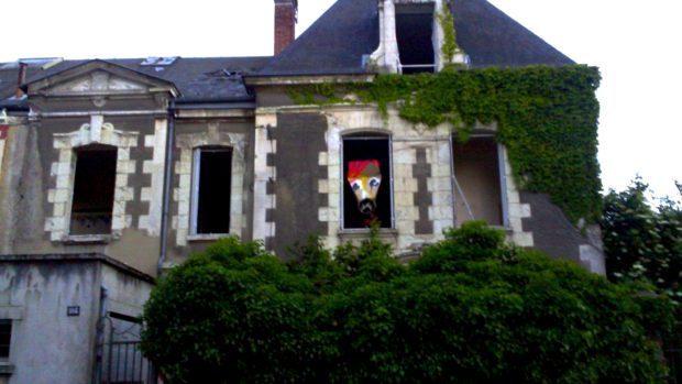 Vu à Rennes : Les maisons abandonnées hébergent parfois d'étranges habitants…