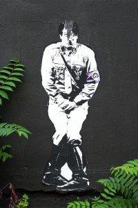 Graffiti berlinois - Copyright Jérôme Enez-Vriad