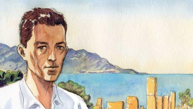 BD L'étranger, Albert Camus illustré par Jacques Ferrandez, intimité de la dramaturgie