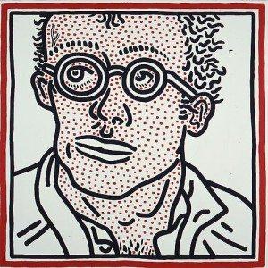 Keith Haring (Self Portrait - Auto-portrait)