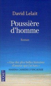 """""""Poussière d'homme"""" de David Lelait - Editions Pocket"""