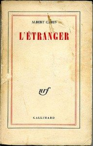 """L'étranger"" d'Albert Camus - Edition originale Gallimard"