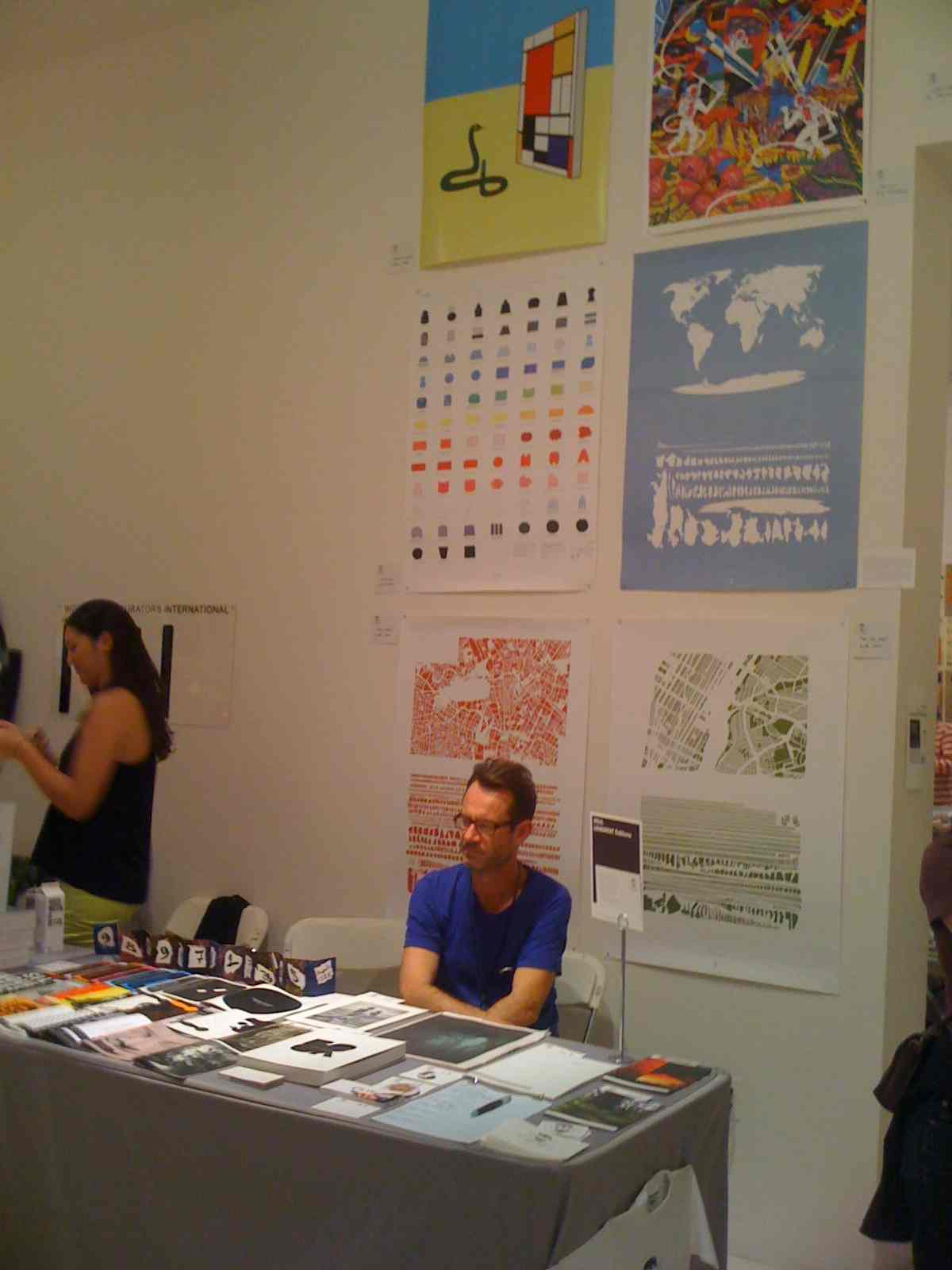 lendroit, éditiions, new york book fair, printed matters, rennes, new york, mathieu renard