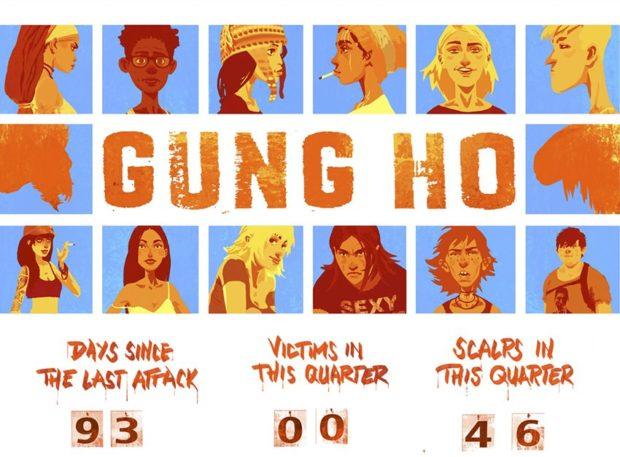 GUNG HO : La BD qui explose les codes