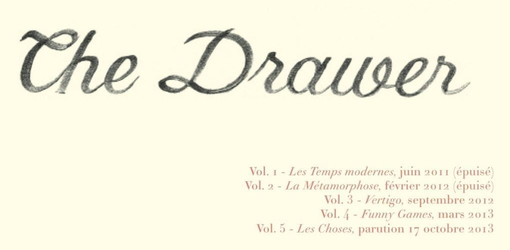 the drawer, sophie toulouse, les choses