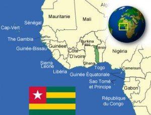 Situation du Togo en Afrique