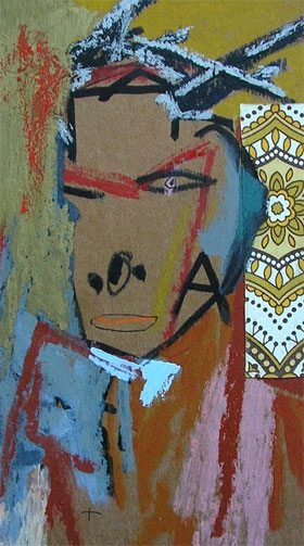 Toze Figueiredo :  Portrait de Jean-Michel Basquiat