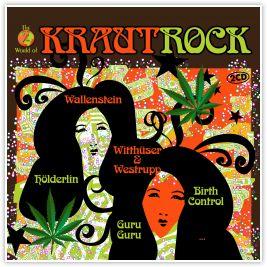 Krautrock - Pochette d'un disque de compilation