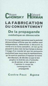 """""""La fabrication du consentement"""" - Editions Agone"""