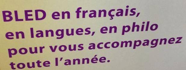 bled, hachette, langue, francaise