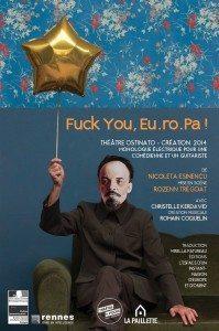 fuck you europa, ostinato, hédé, théâtre