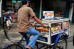 Bread hawker