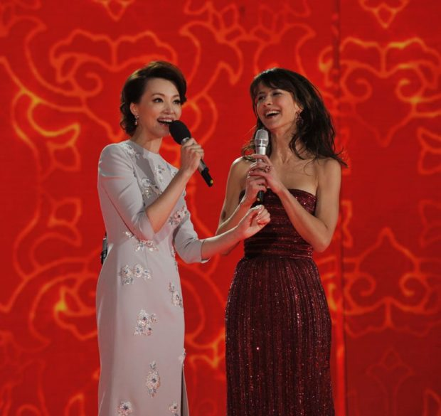 Sophie Marceau, sping festival, chine, nouvel an, 2014