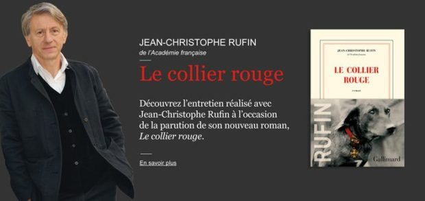 collier rouge, jean-christophe-rufin