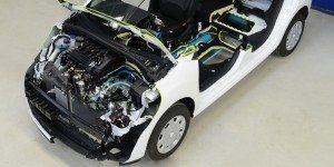Des solutions françaises comme l'hybridation à air comprimé (PSA)