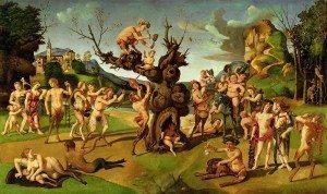 Piero di Cosimo, La découverte du miel