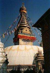 Le Swayambhunath à Katmandou